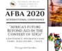 """NUGS-CHINA SUCCESSFULLY HELD ITS 1ST INTERNATIONAL E-CONFERENCE ON """"AFRICA'S FUTURE BEYOND AID (AFBA) IN THE CONTEXT OF THE SDGs"""""""
